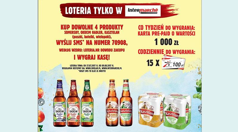 Loteria Intermarche Wygrywaj z Carlsberg w Intermarche