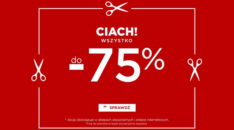 Rabaty do -75% w sklepie 5 10 15!