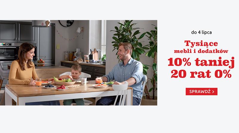 W Black Red White kupisz meble i dodatki 10% taniej