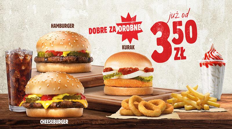 Dobre za drobne w Burger King!