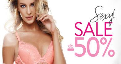 Sexy Sale do -50% w salonie Esotiq