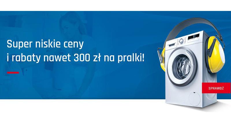 Rabaty do 300 zł na pralki w Neonet