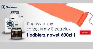 Kup sprzęt Electrolux i odbierz nawet 600 zł w Neonet