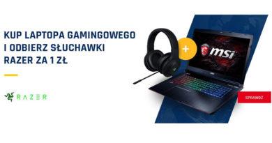 Kup laptopa i odbierz słuchawki za 1 zł w Neonet!