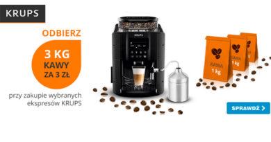 Odbierz 3 kg kawy za 3 zł w OleOle!