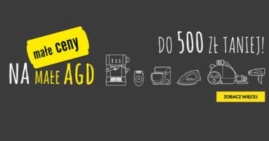 W RTV euro AGD małe AGD kupisz nawet do 500 zł taniej
