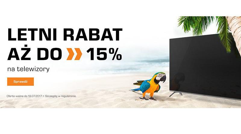 Rabat do 15% na telewizory w salonie Saturn