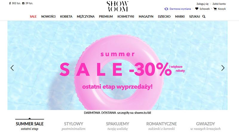 Wyprzedaż -30% w Showroom