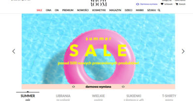 Summer sale w Showroom