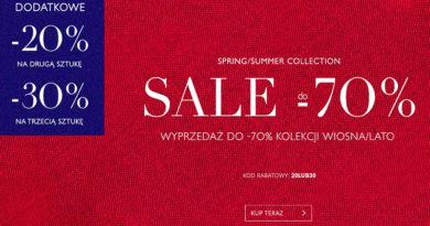 Wyprzedaż do -70% w sklepie Vistula