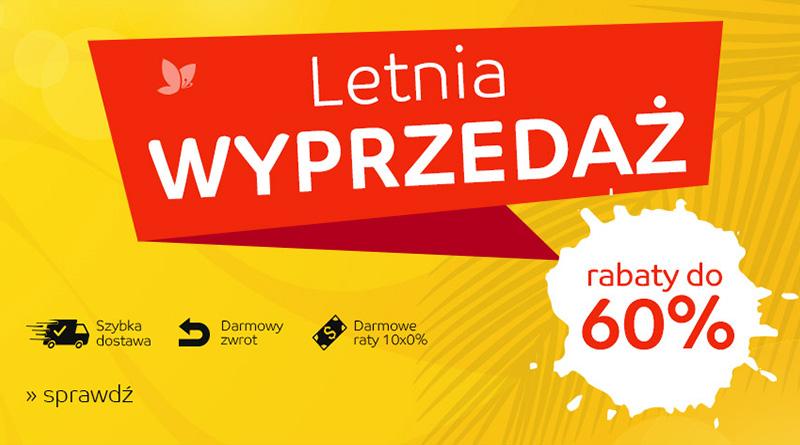 Letnia wyprzedaż do -60% na eMag.pl