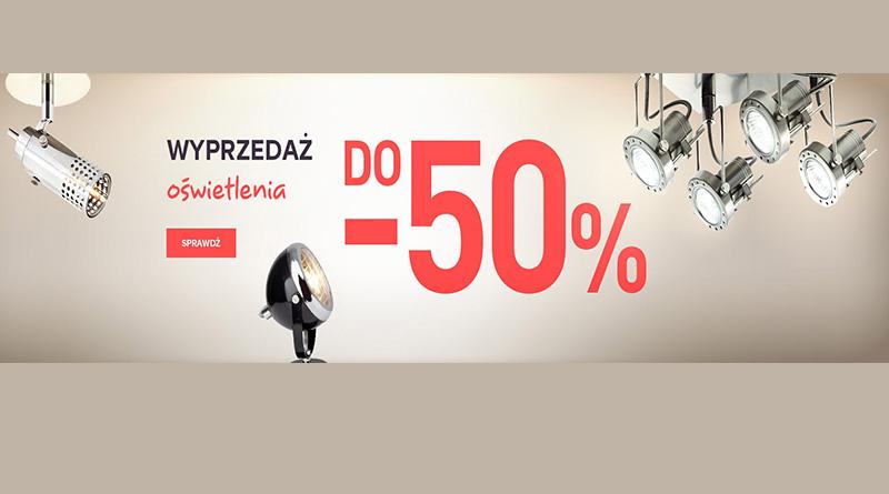 Wyprzedaż oświetlenia do -50% w sklepie Castorama