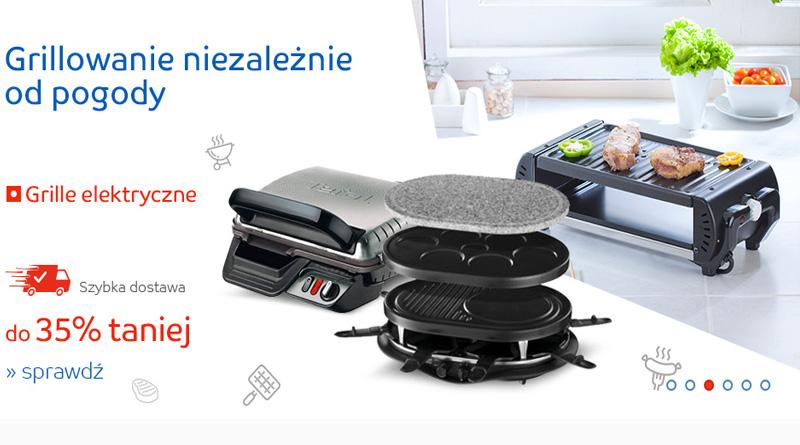 Grille elektryczne do 35% taniej na eMag.pl
