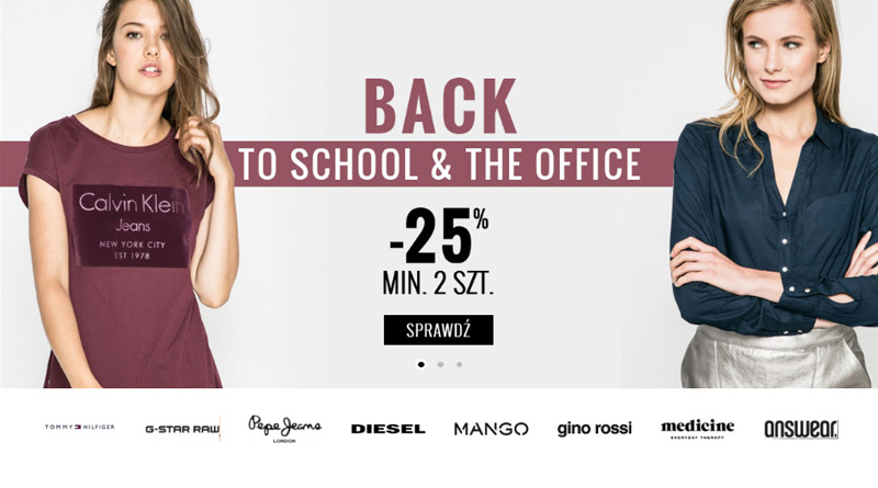 Back to school z rabatem do -25% na ANSWEAR.com