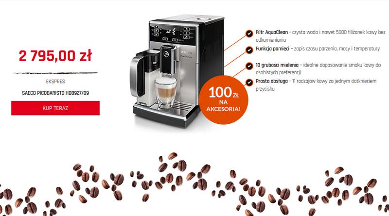 Promocyjny ekspres do kawy