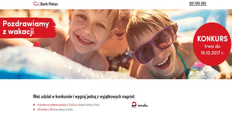Konkurs Bank PKO Rodzinna podróż marzeń