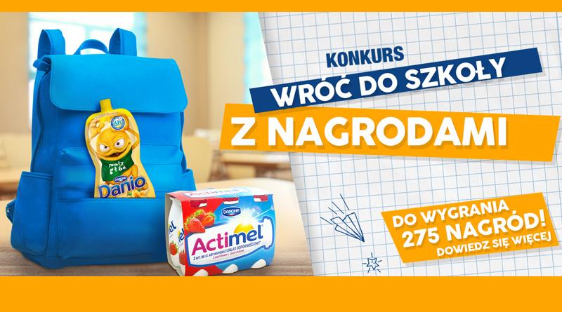 Konkurs Biedronka Wróć do szkoły z nagrodami!