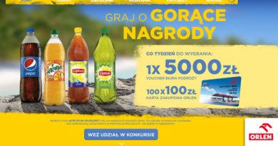 Konkurs Orlen: Nagrody na lato – Pepsi ORLEN