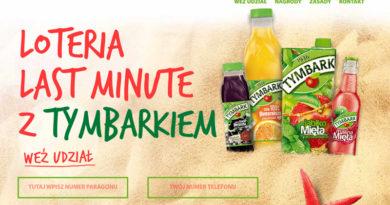 Loteria Carrefour Last minute z Tymbarkiem!