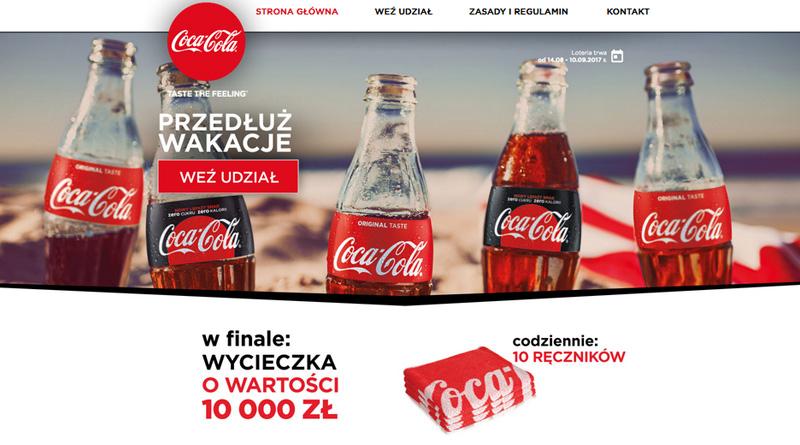 Loteria Eurocash Coca-Cola przedłuża wakacje