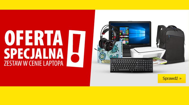 Zestaw w cenie laptopa w Media Expert
