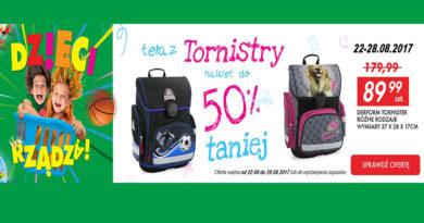 Tornistry nawet do 50% taniej w AuchanDirect