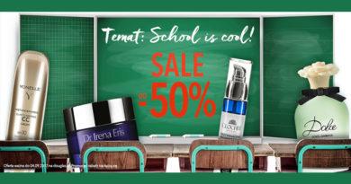 SALE do -50% w perfumerii Douglas