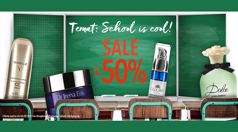 SALE do -50% w perfumerii Douglas
