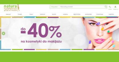 Rabaty do -40% na kosmetyki do makijażu w Drogeriach Natura