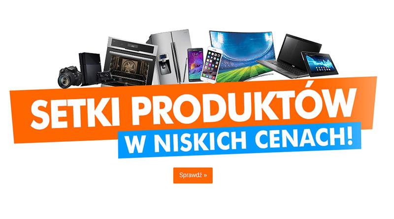 Setki produktów w niskich cenach w Electro