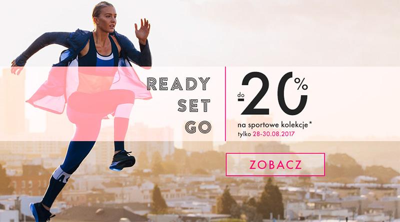 Sportowa kolekcja tańsza do 20% na Eobuwie.pl