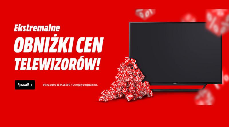 Obniżki cen telewizorów w Media Markt!