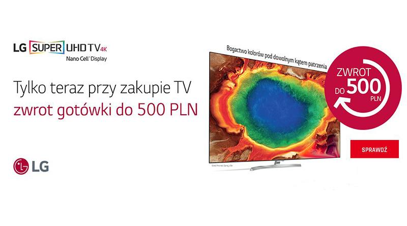 Kup TV i odbierz zwrot gotówki do 500 zł w Neonet