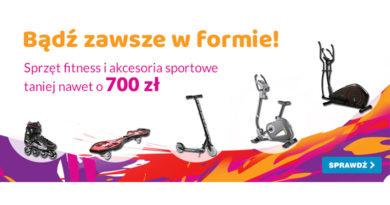 Sprzęt fitness taniej nawet o 700 zł w OleOle!