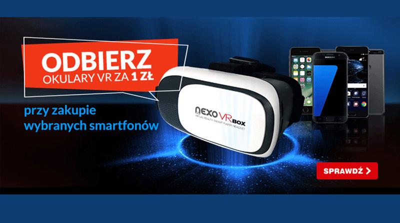 Odbierz okulary VR za 1 zł w OleOle!