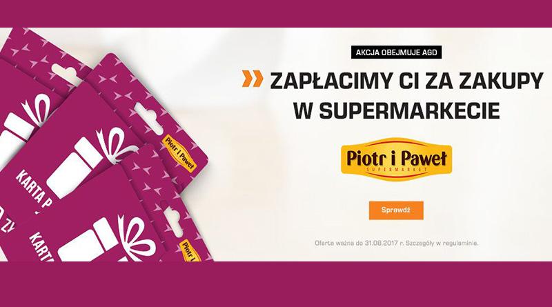 Saturn zapłaci za zakupy w supermarkecie Piotr i Paweł
