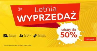 Letnia wyprzedaż do -50% na eMag.pl