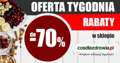 Oferta tygodnia w cosdlazdrowia.pl