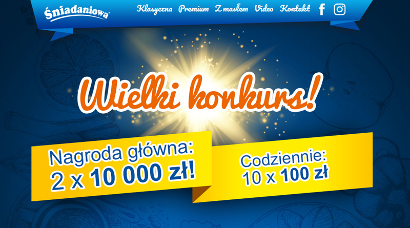 Konkurs Śniadaniowa Wielki konkurs!