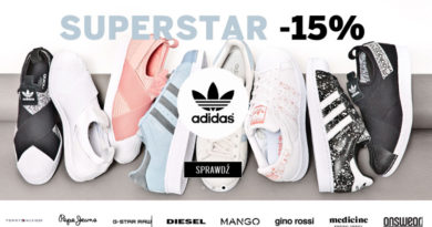 Adidas Superstar tańszy o -15% na Answear.com