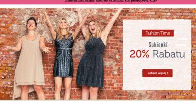 Rabat 20% na sukienki w Bonprix