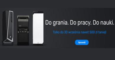Desktopy do 500 zł taniej w sklepie Komputronik