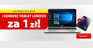 Odbierz tablet Lenovo za 1 zł w Media Expert