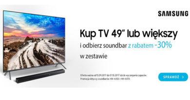 Odbierz soundbar z rabatem -30% w Media Markt
