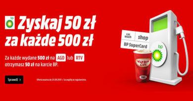 Za każde wydane 500 zł otrzymasz 50 zł w Media Markt