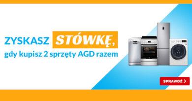 Kup 2 sprzęty AGD i zyskaj 100 zł w OleOle!
