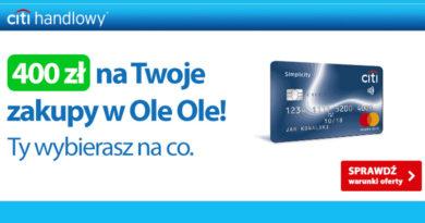 Otrzymaj kod rabatowy na 400 zł na zakupy w OleOle!