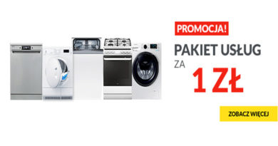 Pakiet usług za 1 zł w sklepie RTV euro AGD