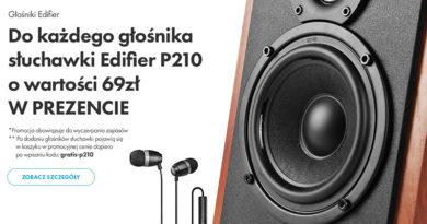 Słuchawki Edifier w prezencie w sklepie VOBIS