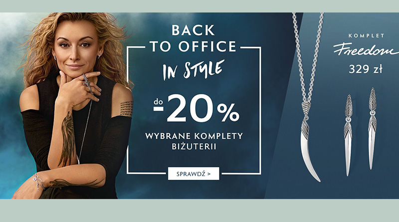 Rabaty do -20% na wybrane komplety biżuterii w W.KRUK